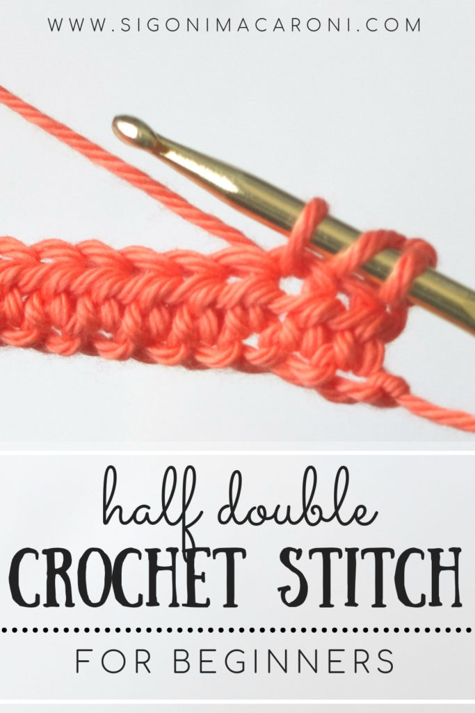 Learn The Half Double Crochet Stitch With Step By Step Photos For