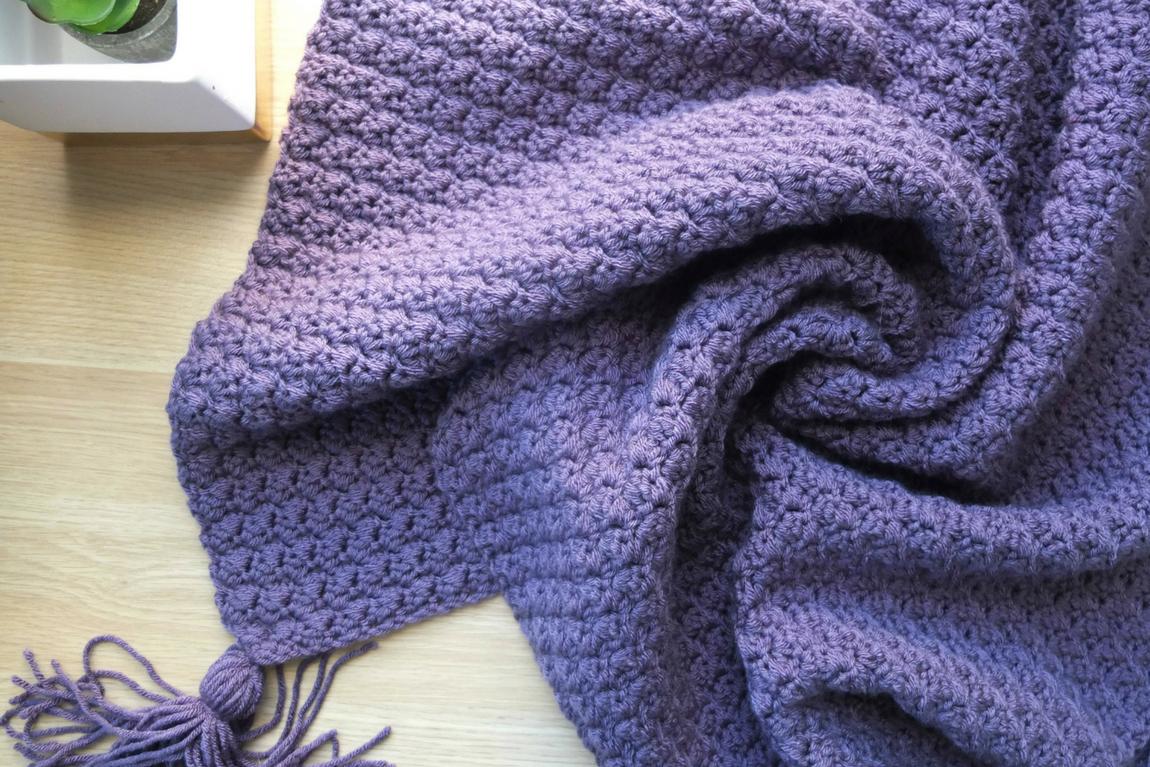 Suzette Baby Blanket Free Crochet Pattern Sigoni Macaroni