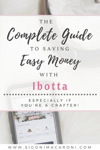 saving money with ibotta