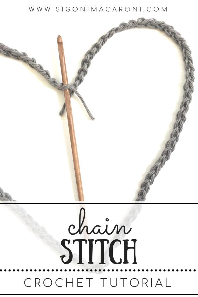 Chain Stitch Crochet Tutorial