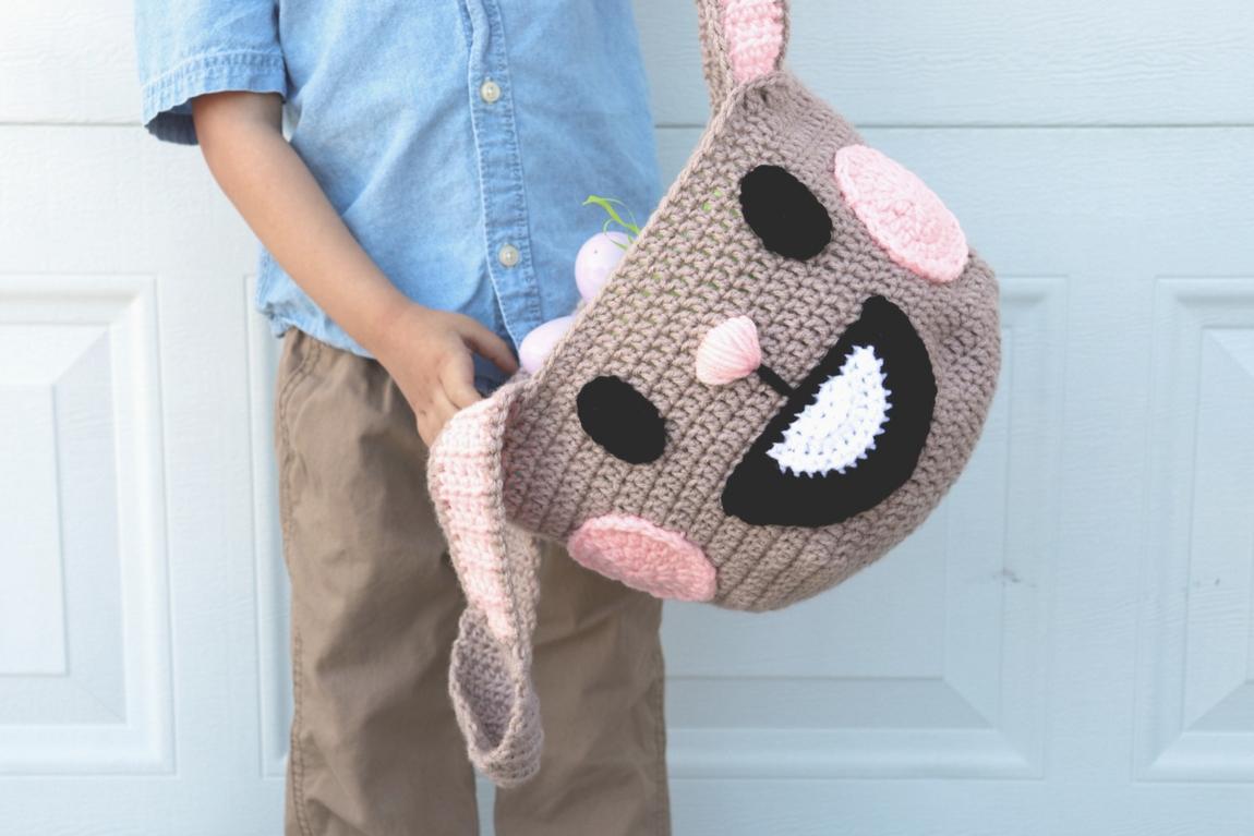 Zootopia Inspired Easter Basket Crochet Pattern