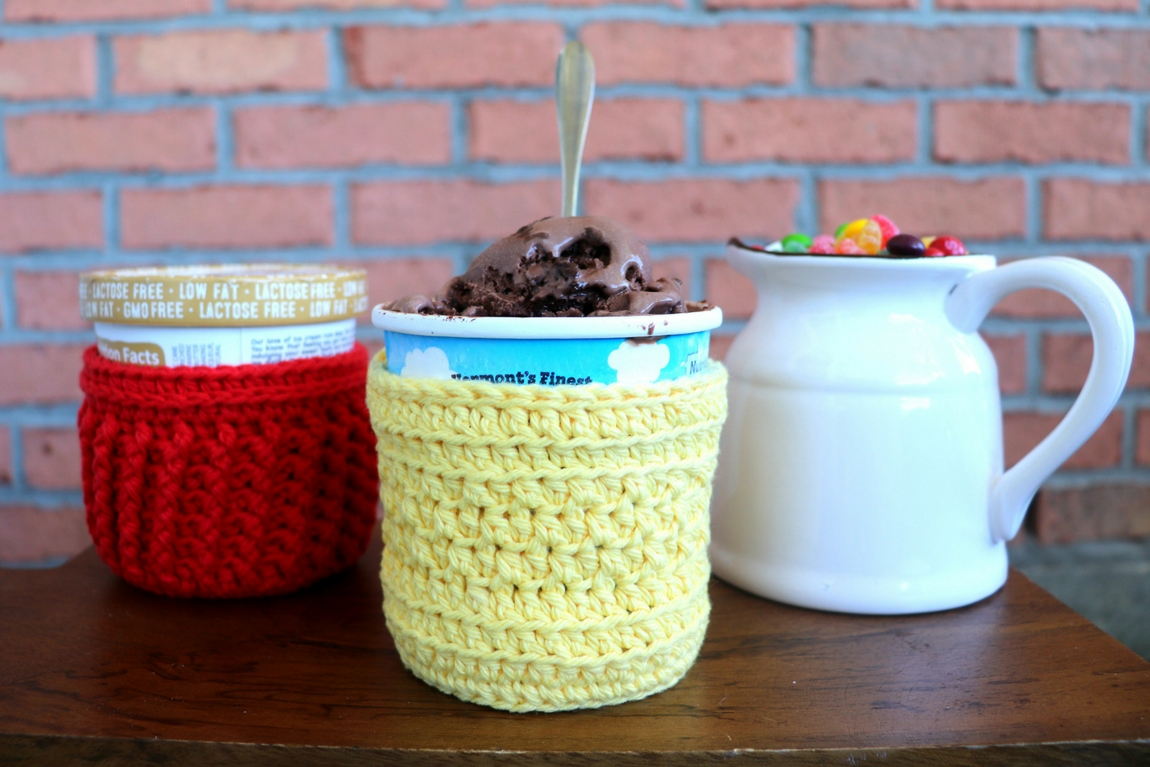 Beginner-Friendly Ice Cream Cozy Crochet Pattern