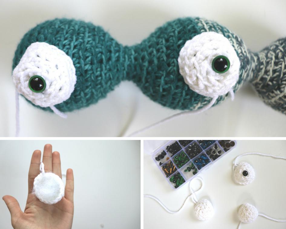 Eyeballs The Amigurumi Monster Crochet Pattern Sigoni Macaroni