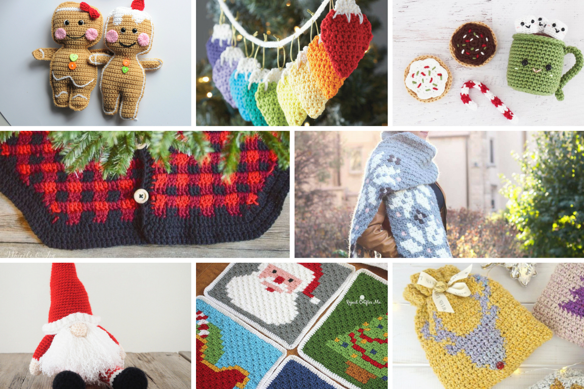 Christmas in July Crochet Pattern Roundup