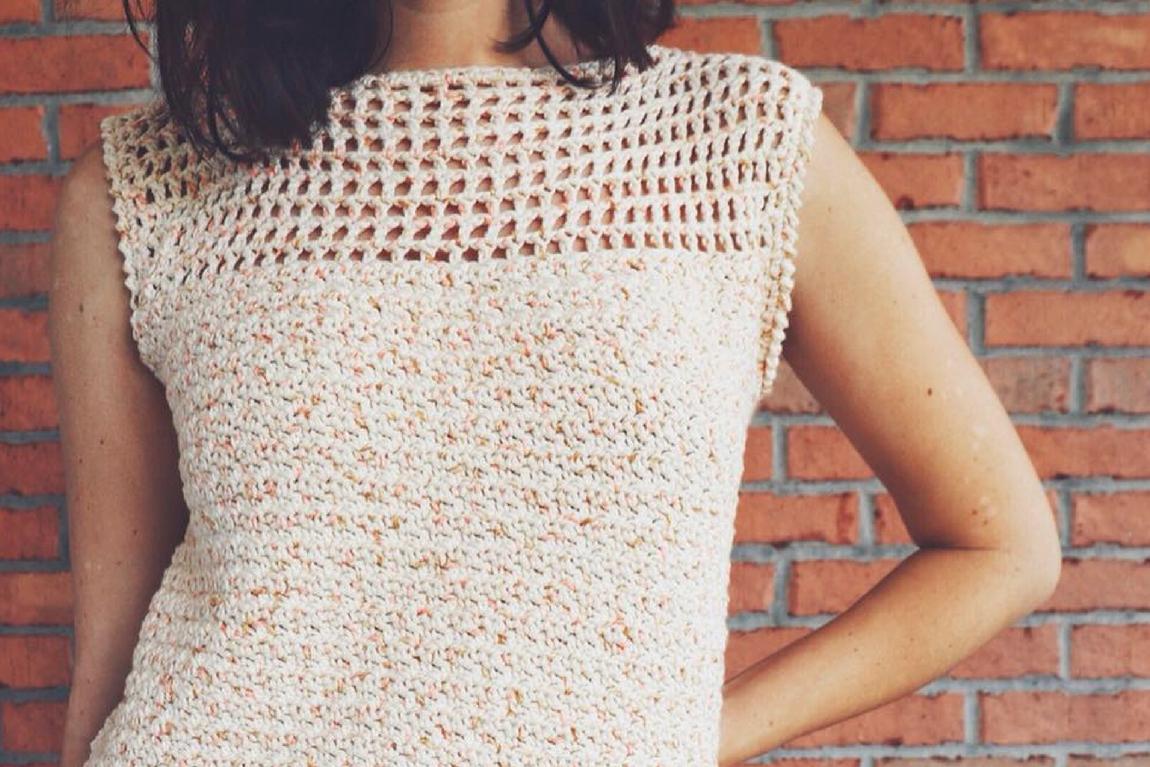 Dreamsicle Tee Crochet Pattern Beginner Friendly Summer Top