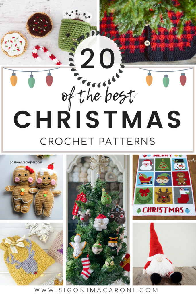 Christmas in July Crochet Pattern Roundup - Sigoni Macaroni
