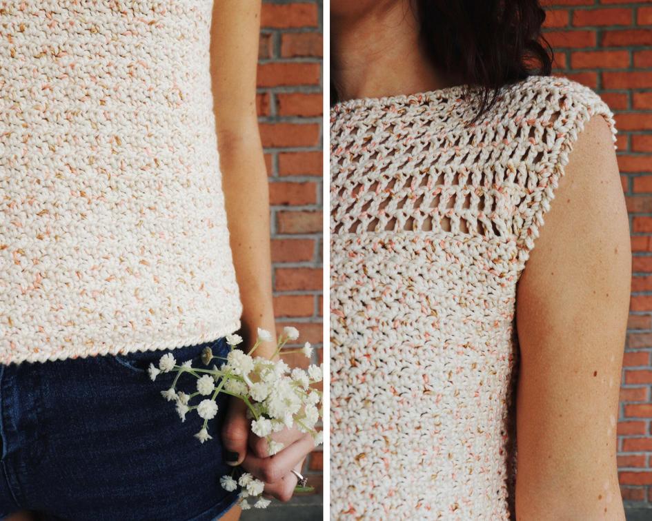 dreamsicle tee crochet pattern