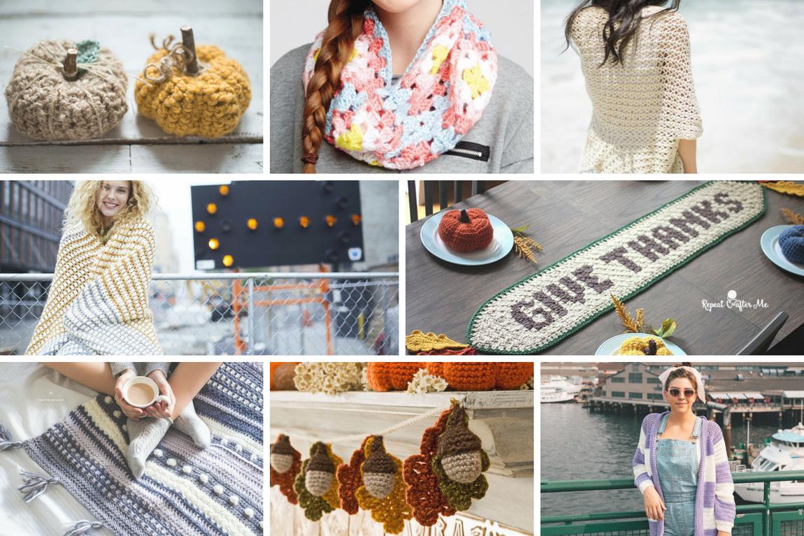 Autumn is Calling – Fall Crochet Pattern Roundup