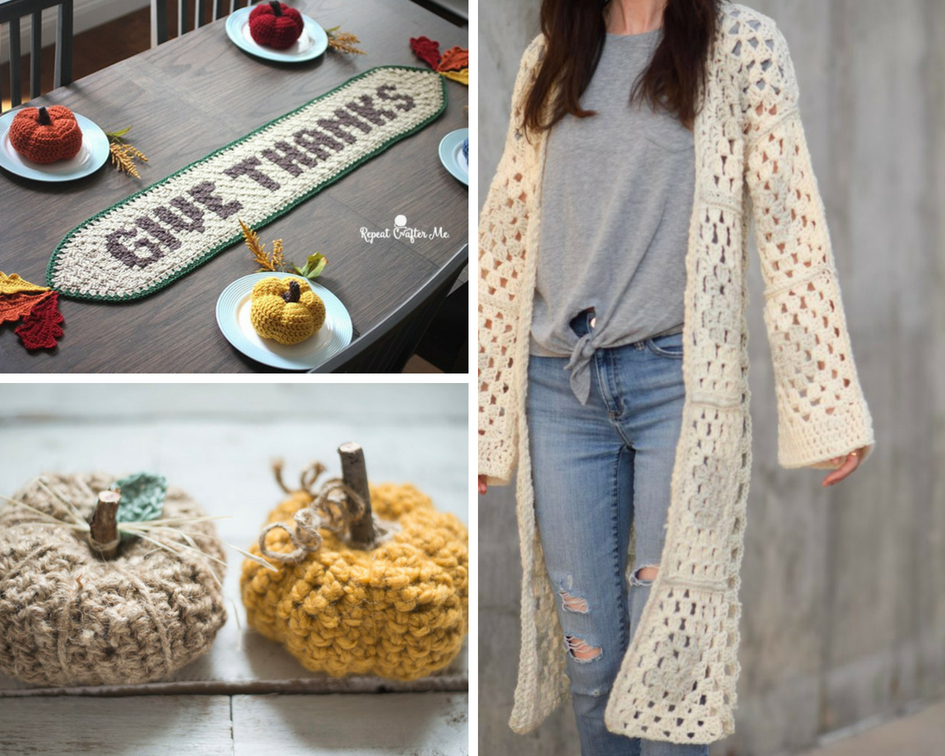 Autumn Is Calling Fall Crochet Pattern Roundup Sigoni Macaroni