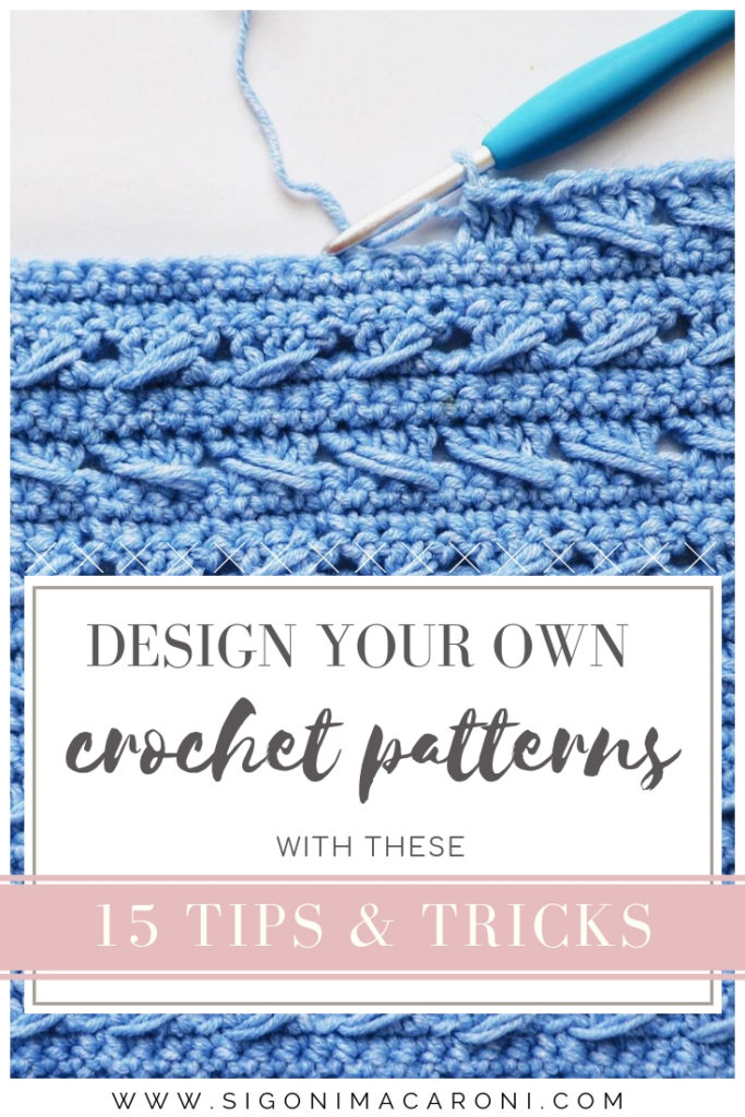 design your own crochet patterns