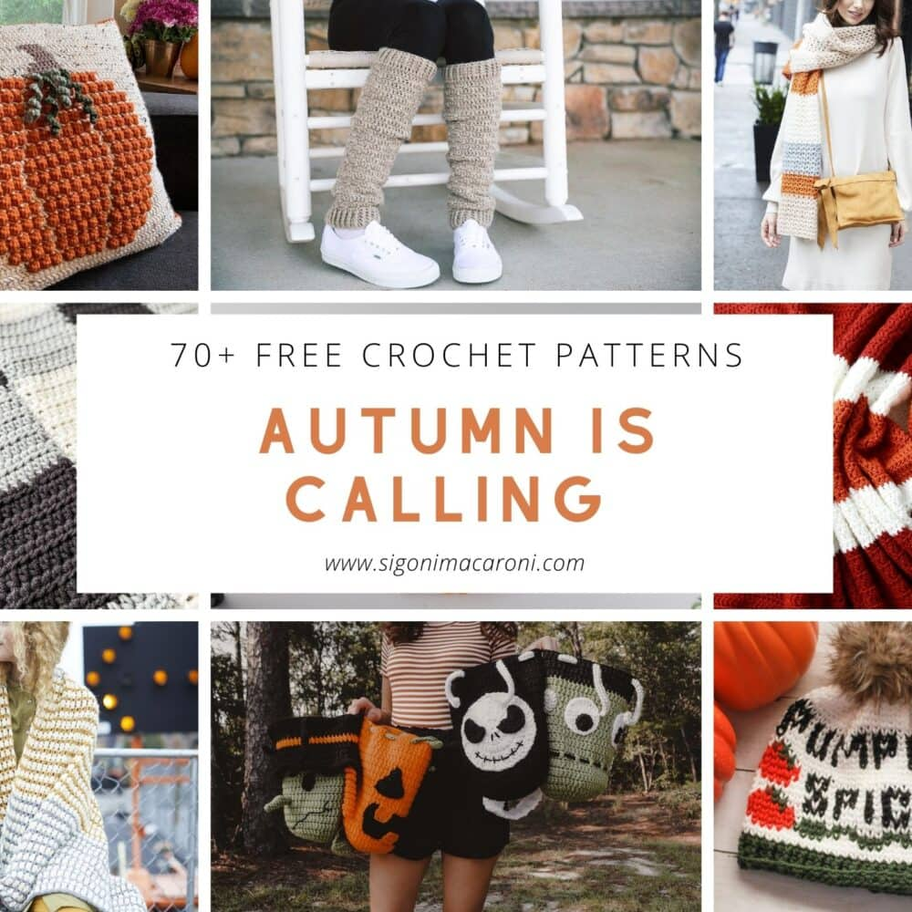 Autumn is Calling: 70+ FREE Fall Themed Crochet Patterns for 2021