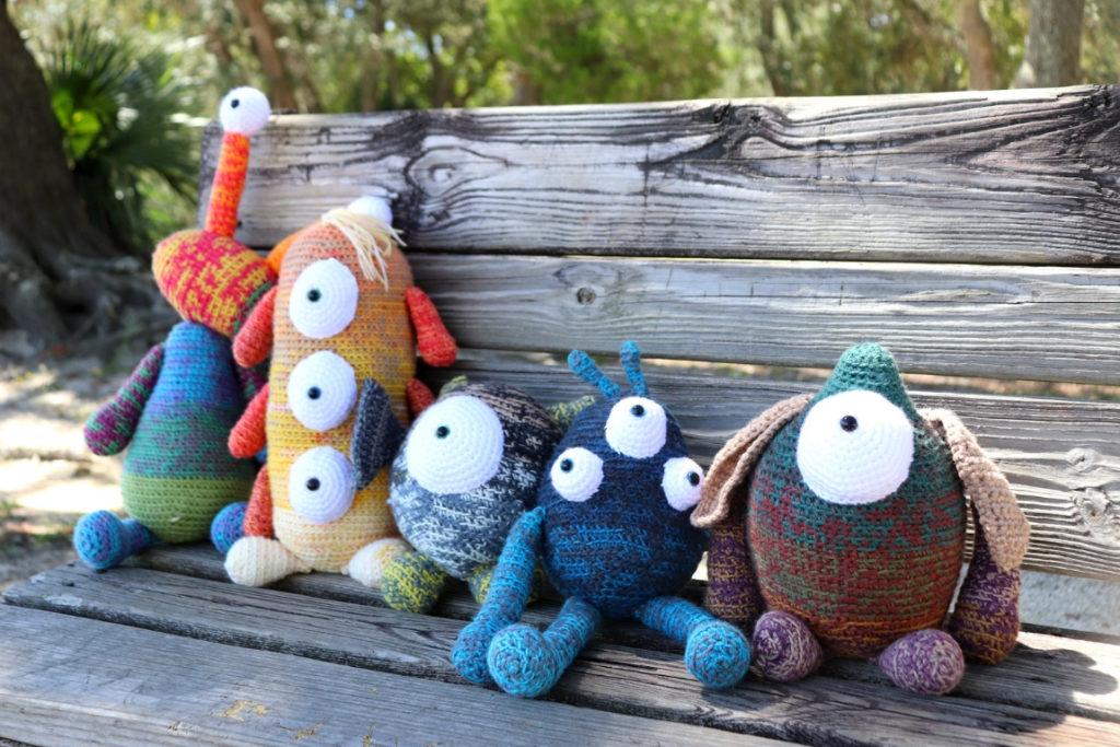 Mandala Monsters Crochet Pattern Collection Lookbook Sigoni Macaroni