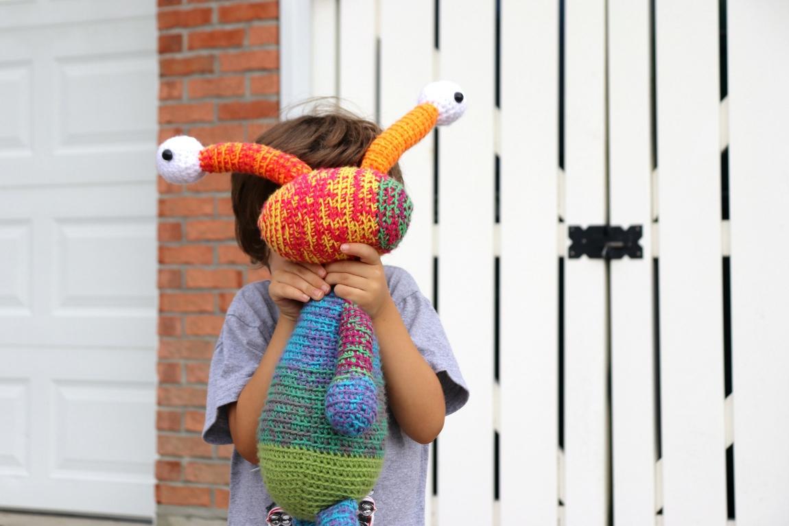 Mandala Monster Crochet Pattern – String Bean