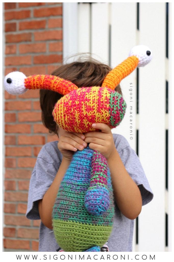 Mandala Monster Crochet Pattern String Bean Sigoni Macaroni