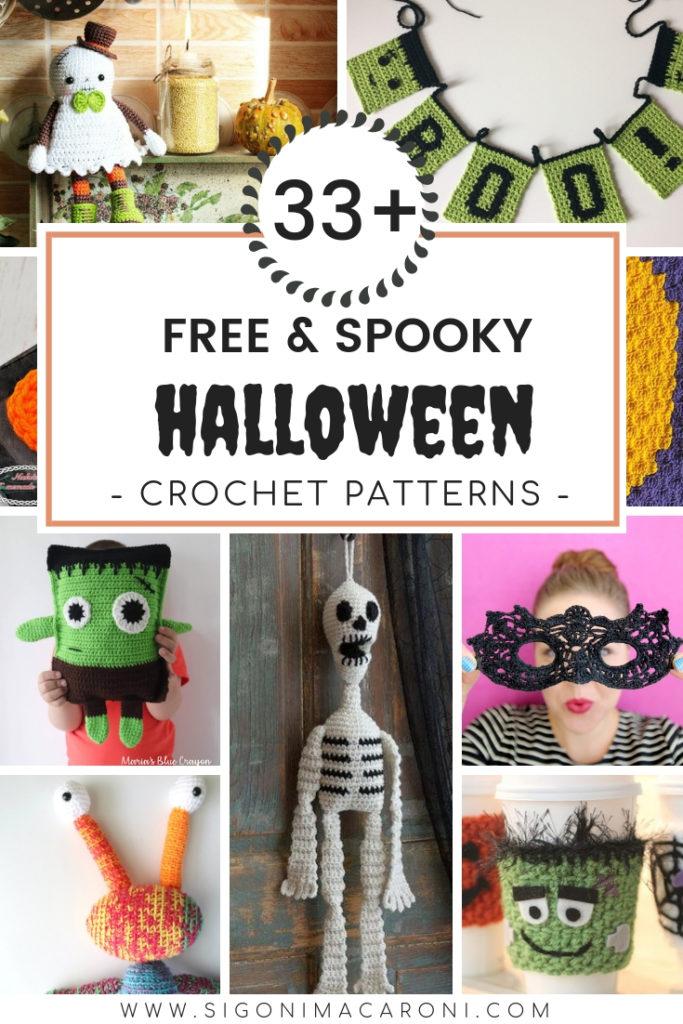 33 Free Spooky Halloween Crochet Patterns Sigoni Macaroni