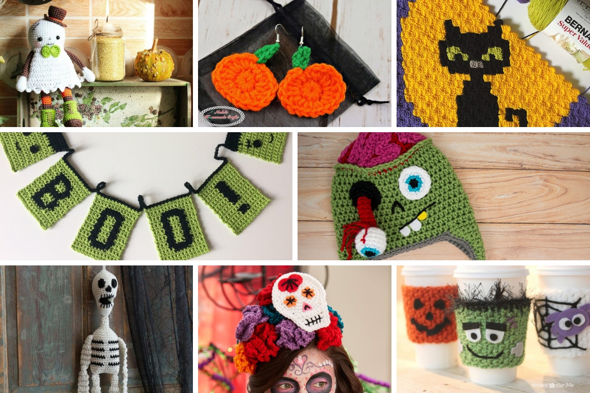 33+ Free Spooky Halloween Crochet Patterns