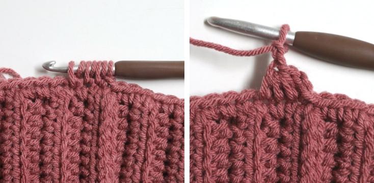 trinity slouch beanie crochet pattern