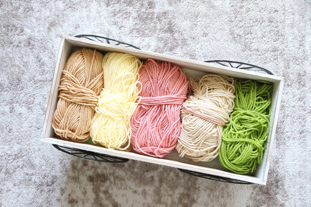 The color pack used in the Spring Meadow Baby Blanket Crochet Pattern by Paintbox Yarns from LoveCrochet