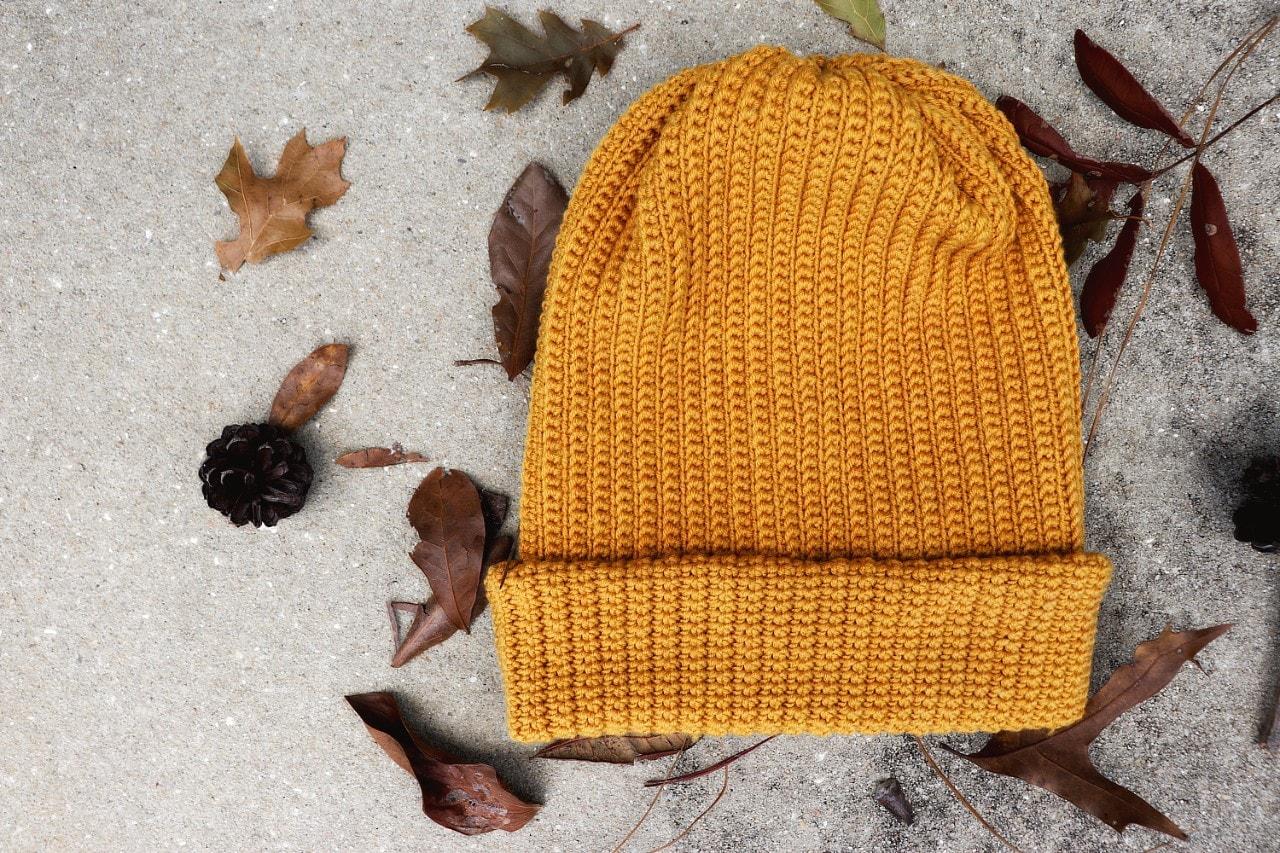 Easy Peasy Fisherman Beanie   Free Crochet Pattern