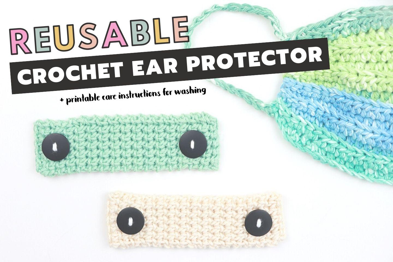 Reusable Crochet Ear Protector For Face Masks Free Crochet