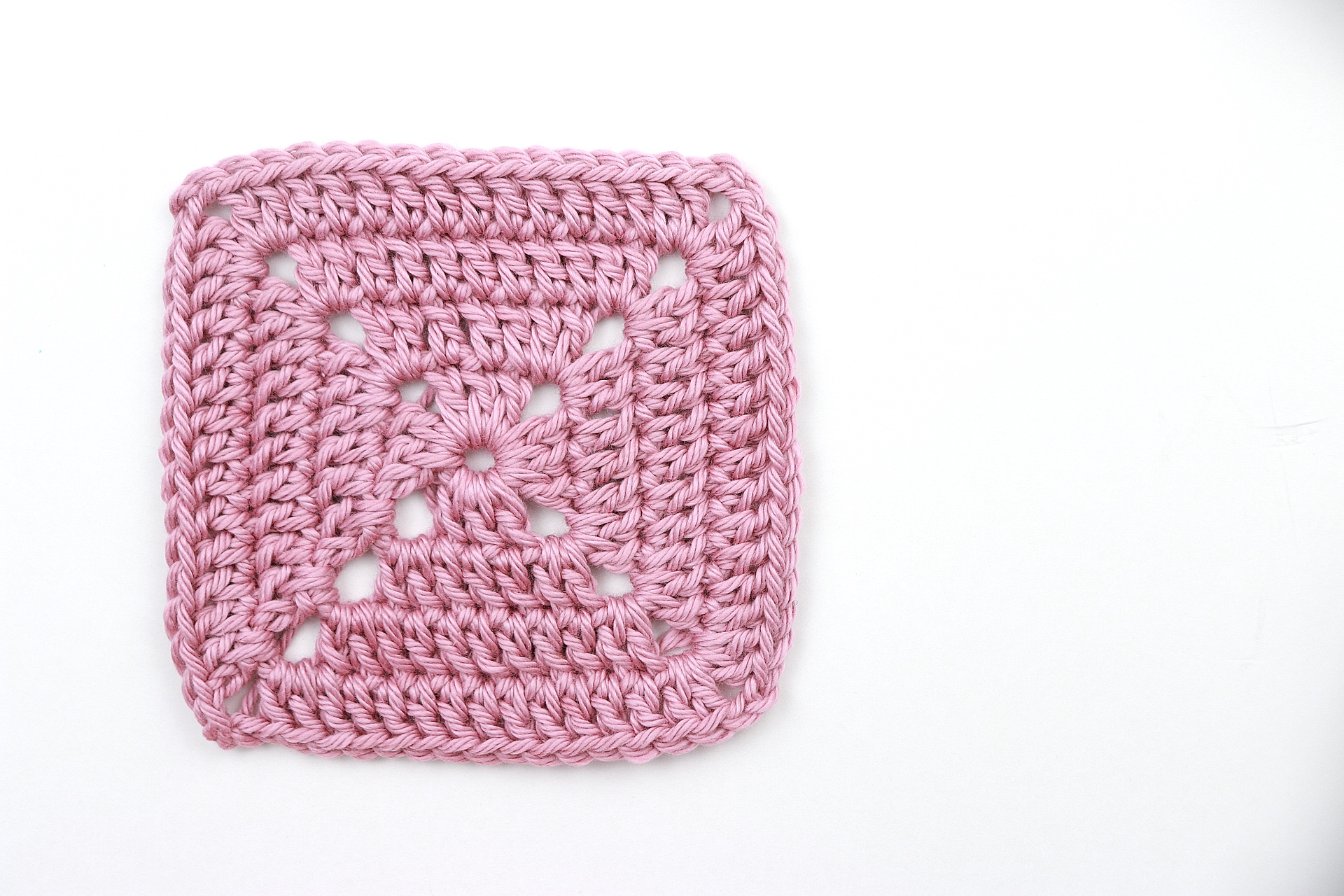 The PERFECT Solid Granny Square Pattern + Your FAQs Answered | Crochet Tutorial For Complete Beginners
