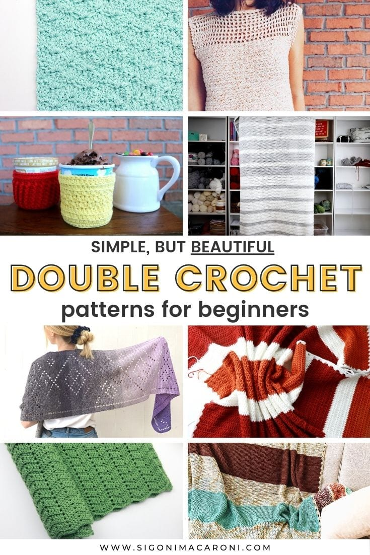 Simple Double Crochet Stitch Patterns For Beginners