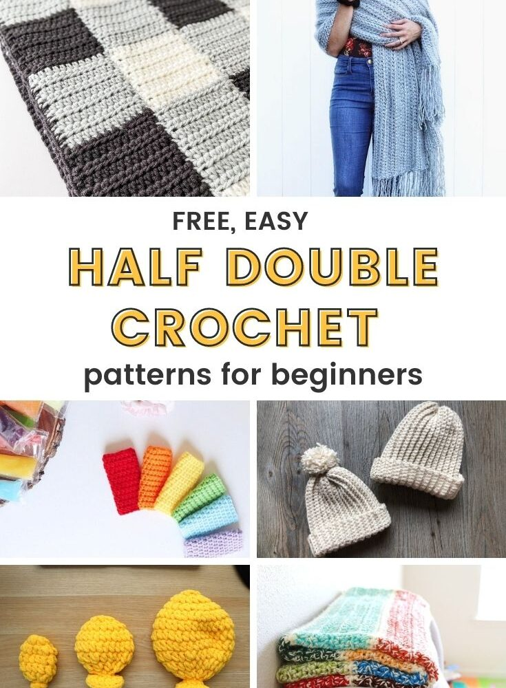 Free Half Double Crochet Patterns For Beginners