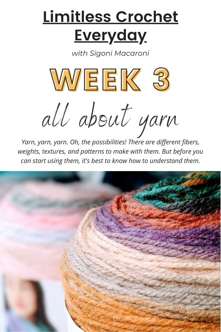 Let's talk all about yarn. Oh, the possibilities! There are different fibers, weights, textures, and patterns to make with them. But before you can start using them, it's best to know how to understand them. via @sigonimacaronii