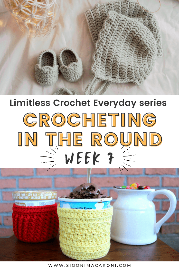 Crocheting in the round brings many possibilities. We're going to cover everything you need to know and you'll be able to tackle even more projects from making hats, to amigurumi, and a whole lot more! via @sigonimacaronii