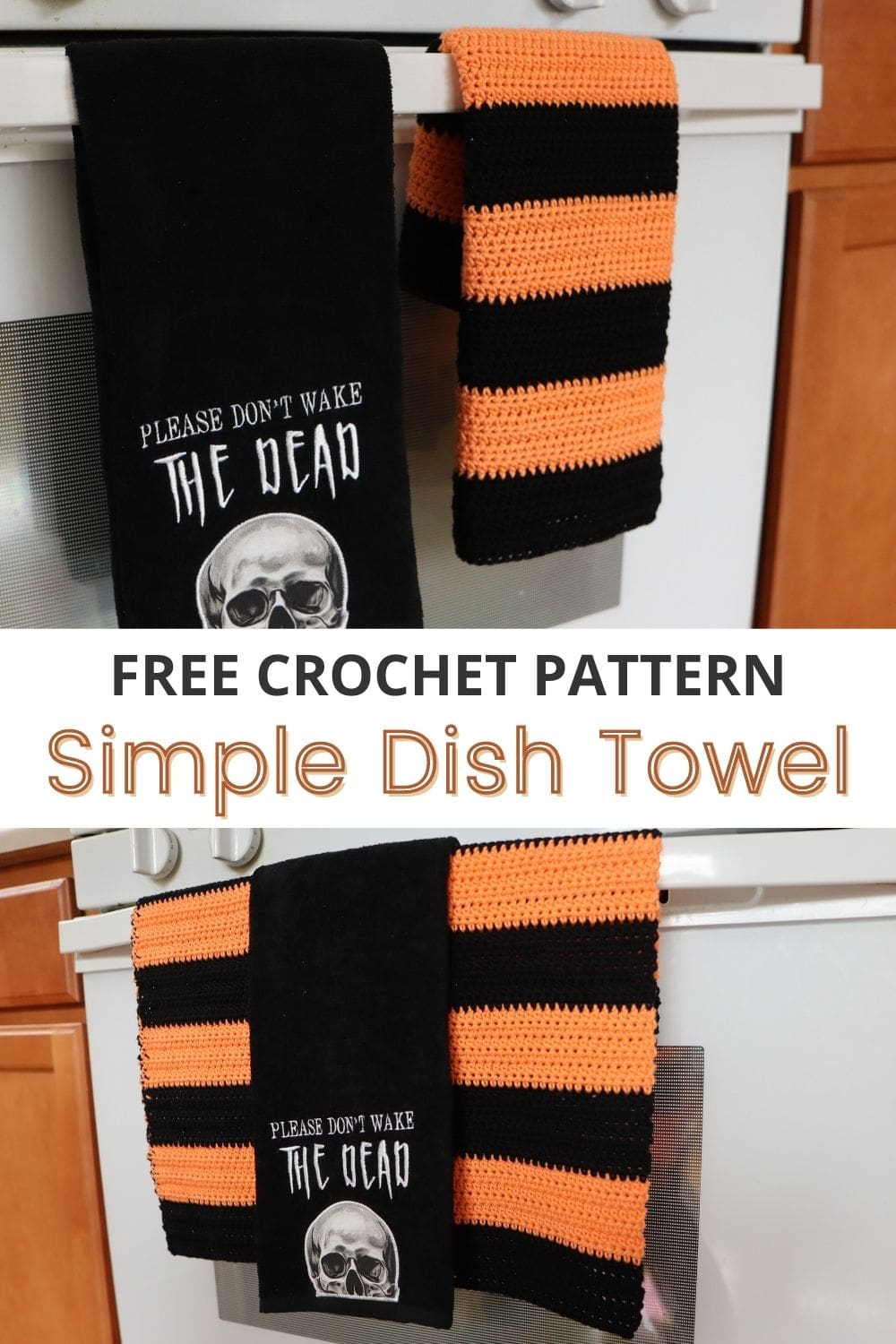 NEAR PERFECT Yarn Join WITHOUT Weaving in Ends + Beginner Crochet Dish Towel Pattern via @sigonimacaronii