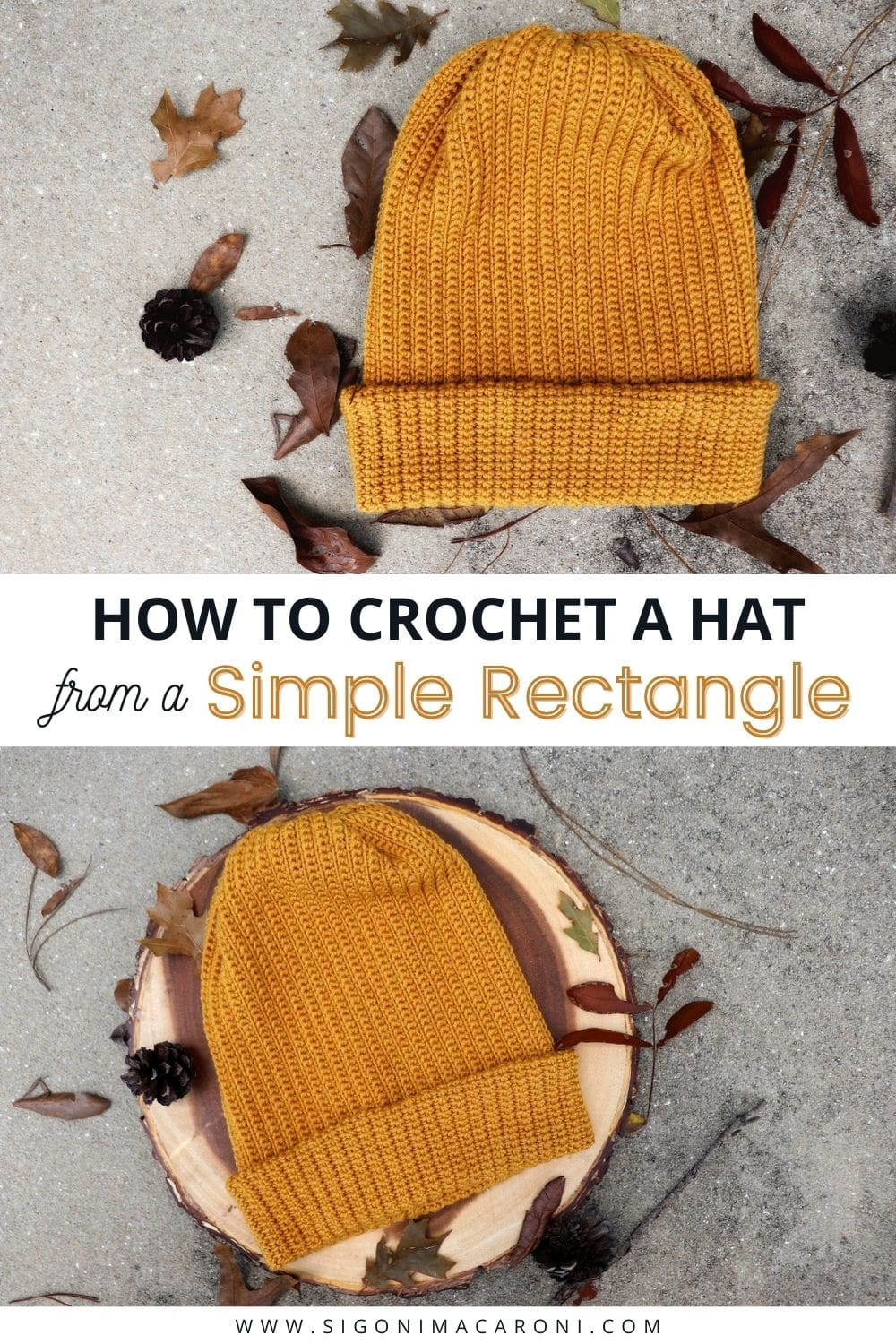 The Easy Peasy Fisherman Beanie is a free, beginner friendly crochet pattern that only uses single crochet stitches. It is simple, yet slouchy and modern. You will also learn how to crochet a hat out of a rectangle! This crochet beanie pattern is unisex, but I do think it would be a great mens gift. I hope you love this free crochet pattern for the Easy Peasy Fisherman Beanie! via @sigonimacaronii